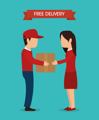 Free delivery and shipping