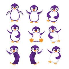 Pingwiny Ilustracja
