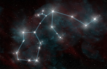 The Constellation of Aquarius the Water Bearer