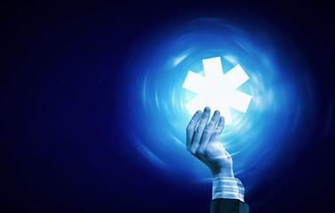 Medicine icon. Concept image