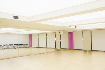 The image of  interior of the dance studio