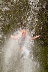 Canyoning Waterfall Jump