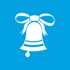 New Christmas bell icon