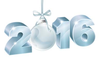 New year 2016 decoration