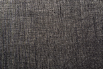 Dark grey cotton fabric with a pronounced texture