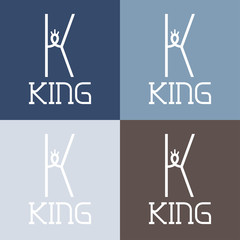 king monogram