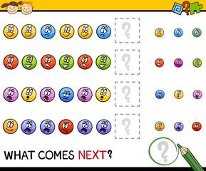 kindergarten pattern task