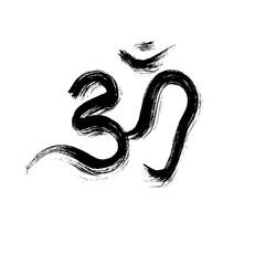 Sign vector Hindu Om Icon in Tamil
