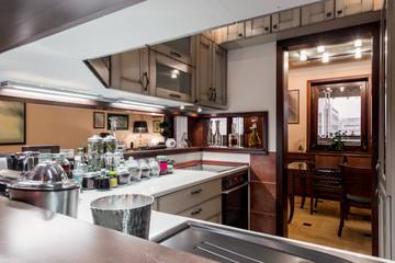 Apartment interior - kitchen area