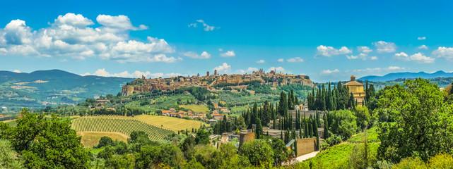 Foto op Canvas Toscane Historic town of Orvieto, Umbria, Italy