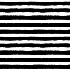 Vector Brush Strokes Black White Pattern