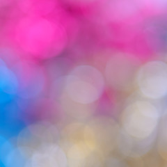 Colorful bokeh twinkling lights  background