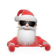 Stylized Santa Claus character