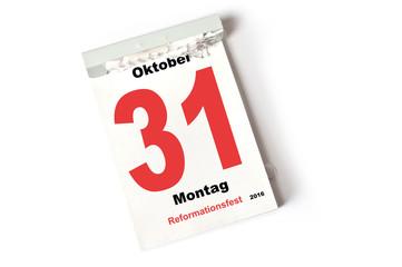 31. Oktober 2016 Reformationsfest