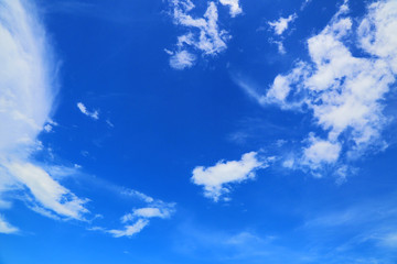 blue sky and clouds background, daytime background