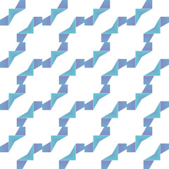 Vector geometric abstract pattern with gradient