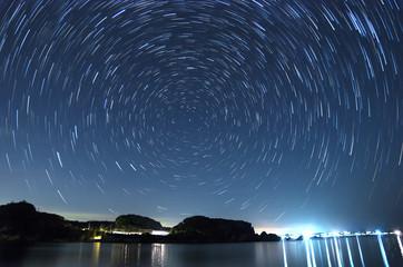沖縄 うるま市 宮城島の星空