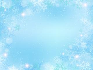 雪結晶の背景