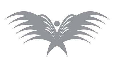 Wings Logo Vector Element