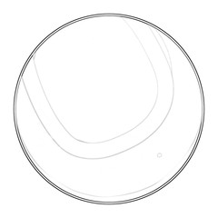 Illustration: Coloring Book Series: Sport Ball: Tennis Ball. Soft thin line. Print it and bring it to Life with Color! Fantastic Outline / Sketch / Line Art Design.