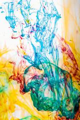 Ink Dissolving in Water