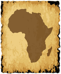 Old African Map