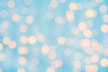 Fotobehang - blurred background with bokeh lights