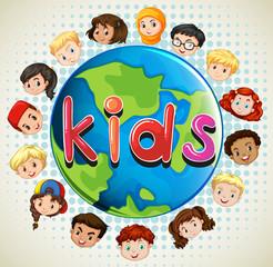 Boys and girls around the world