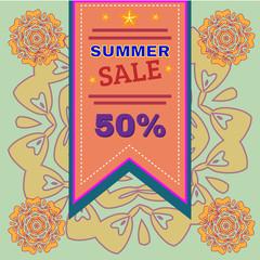 Summer Sale Promotion Flyer