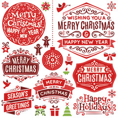 Hand Drawn Christmas Design Elements