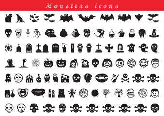 monsters icons
