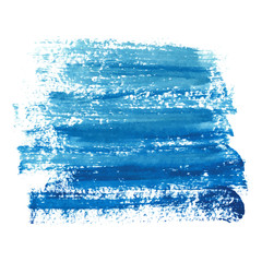 Marine blue paint abstraction