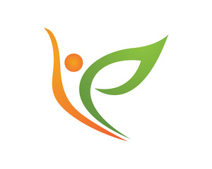 Healthy care logo