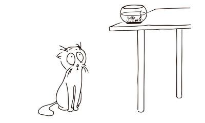 Девка нассала в стол