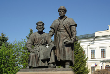 Monument to the architect of the Kazan Kremlin