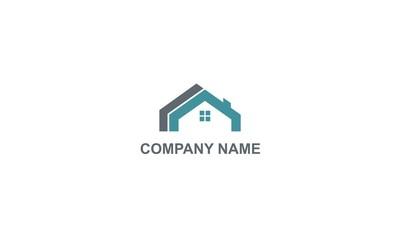 house building construction company logo