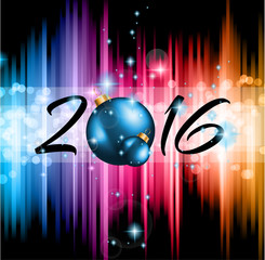 2016 Happy New Year Background for your Flyers