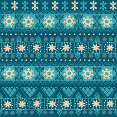 Tribal seamless Christmas pattern.  It can be used for cloth, jackets, bags, notebooks, cards, envelopes, pads, blankets, furniture, packing
