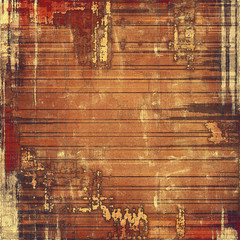 Old background with delicate abstract texture. With different color patterns: yellow (beige); brown; red (orange); gray