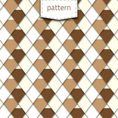 Pattern-white-brown