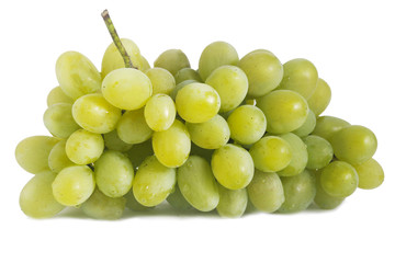 green grapes isolated