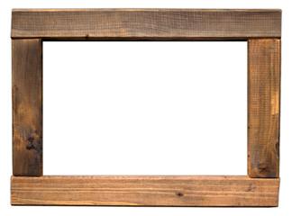einfacher Holzrahmen