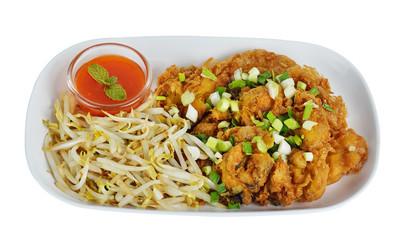 Fried seafood,Fried clam, Thai food