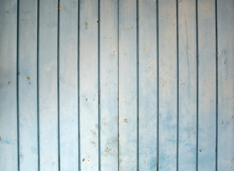 Vertical blue old wood texture