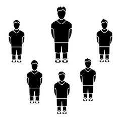 Team Players Silhouettes
