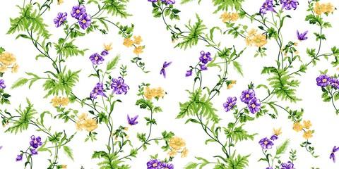 Echo Floral Seamless Pattern