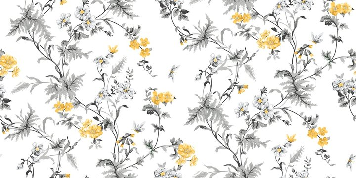 Echo Floral Seamless Pattern