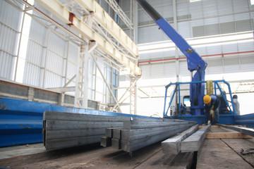 steel truck mounted