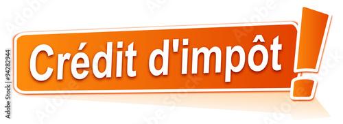 Cr dit d 39 imp t sur tiquette orange - Credit d impot sur photovoltaique ...