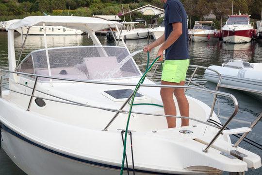 Lavaggio barca